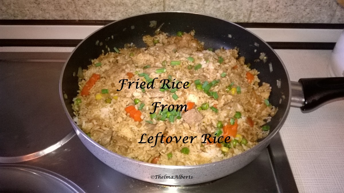 How  To  Make  Fried  Rice  From  Leftover  Rice