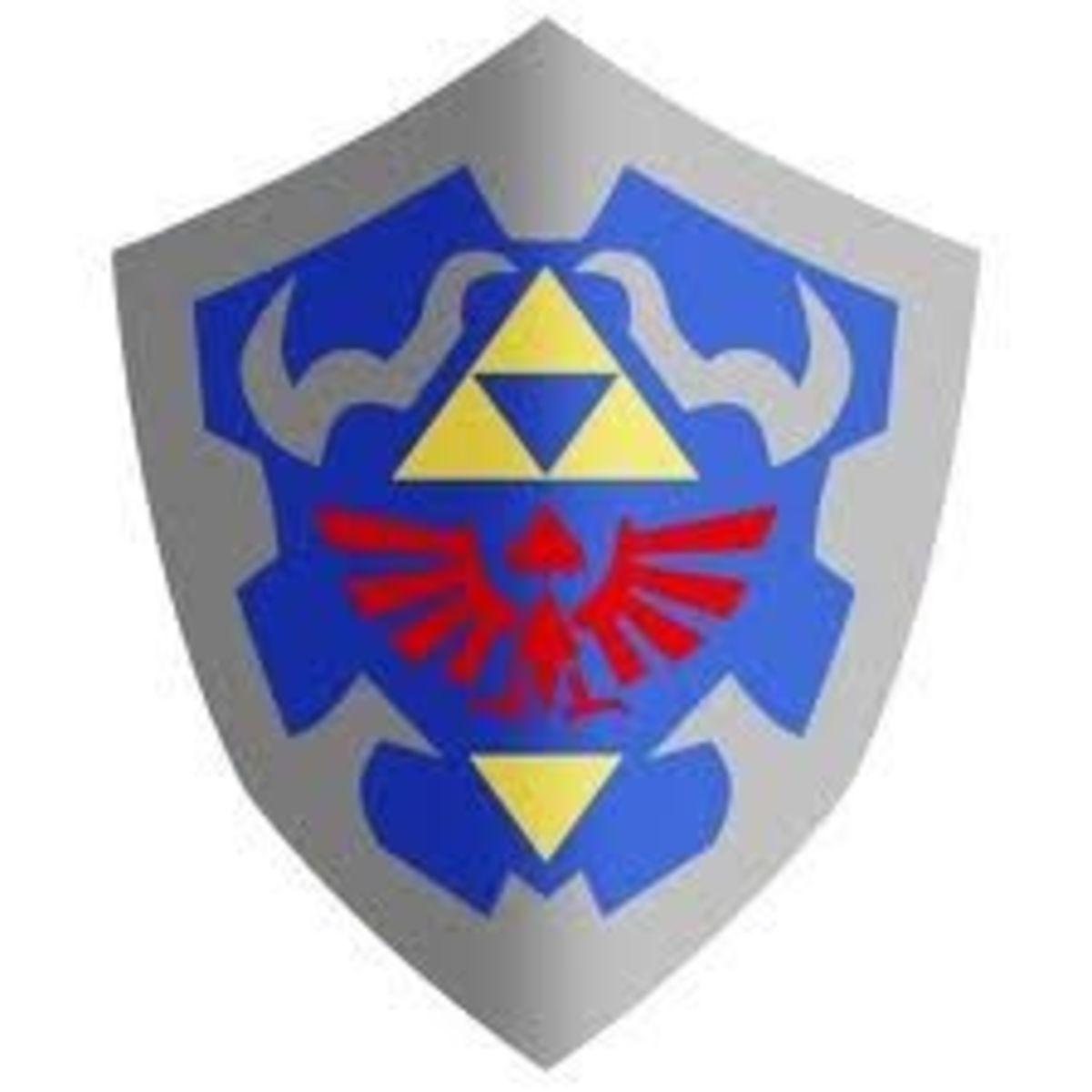 Hylian Shield Details