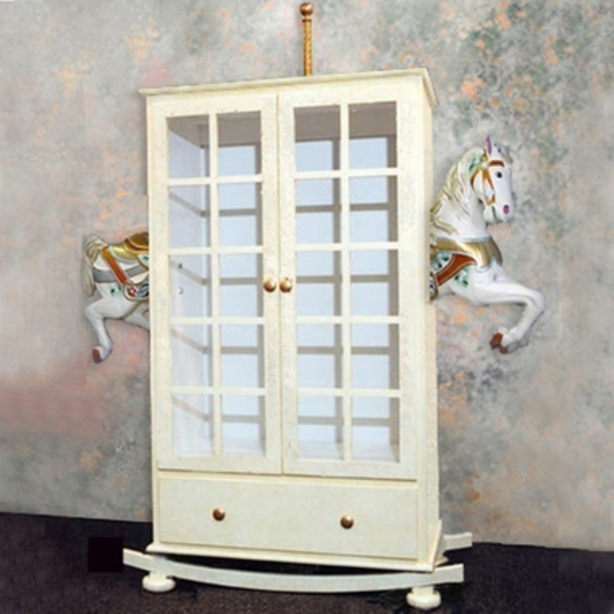 Rocking Horse Armoire from Little Miss Liberty