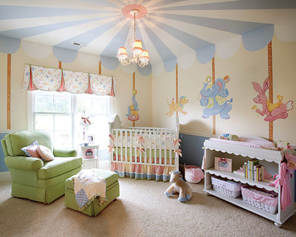 decorating-ideas-for-girls-rooms-a-carousel-paradise