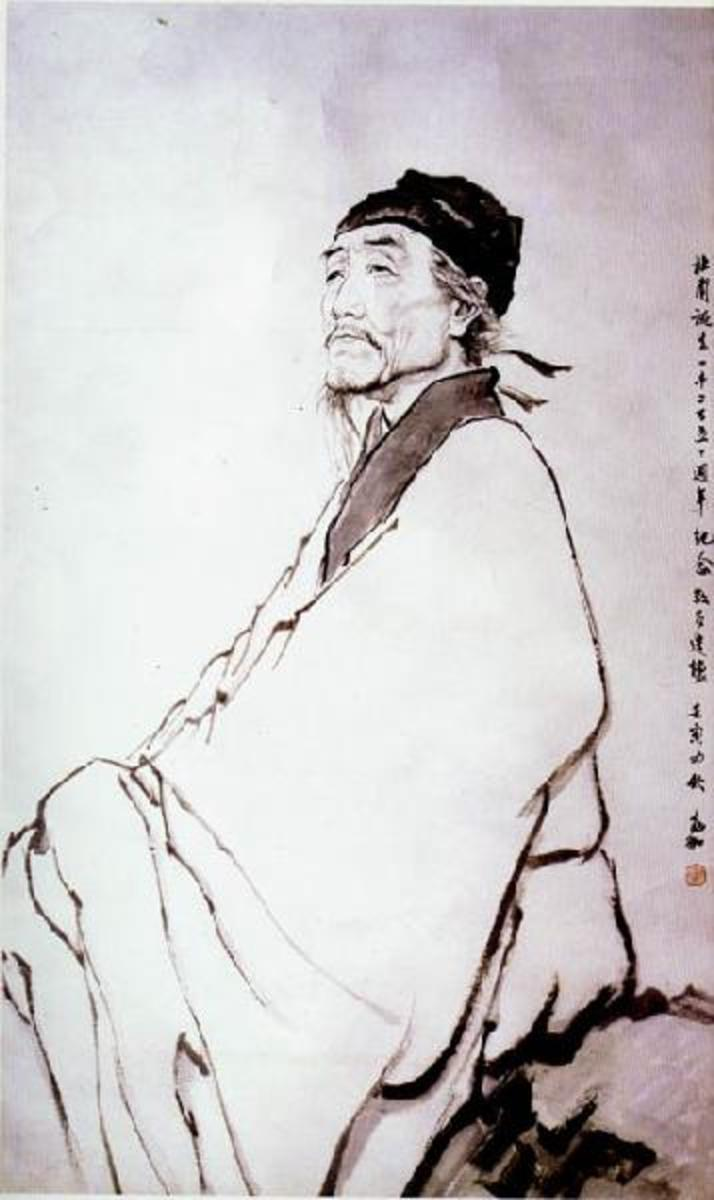 Du Fu (712-770), Chinese Tang Dynasty Poet