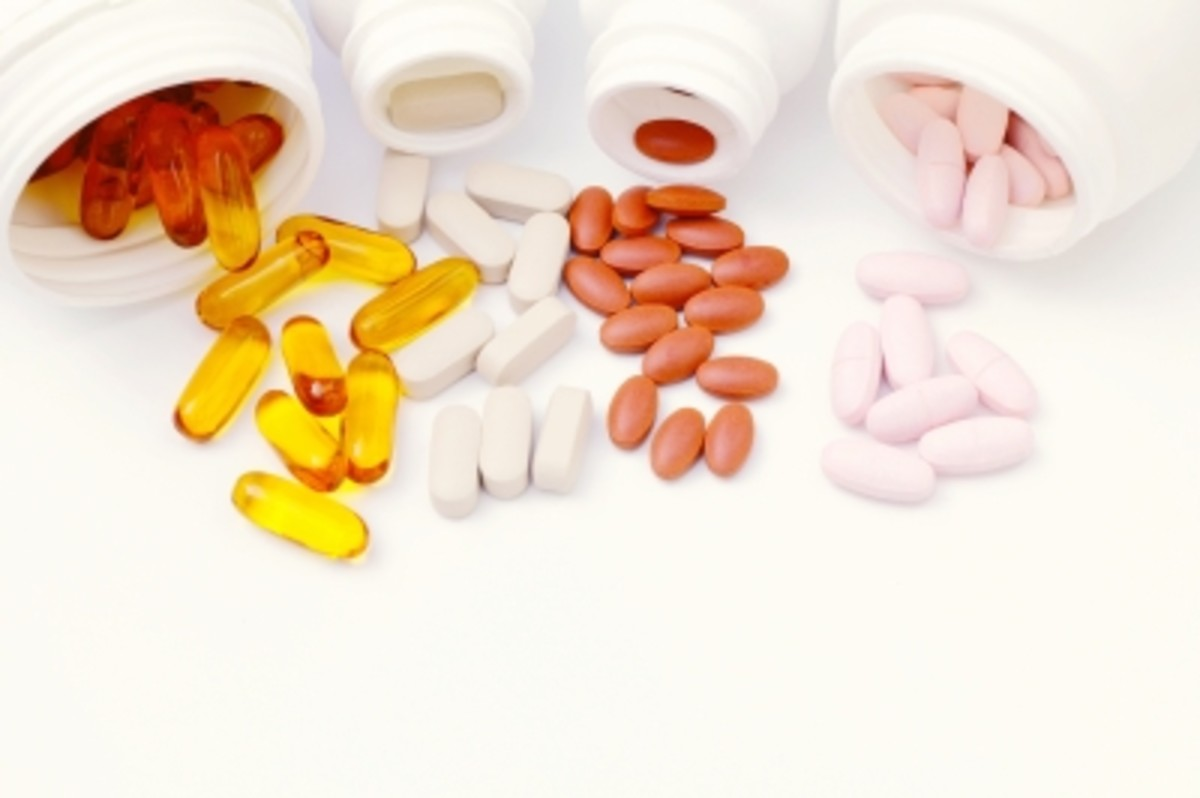 Many vitamins and medications that we take are available in a dye-free form.