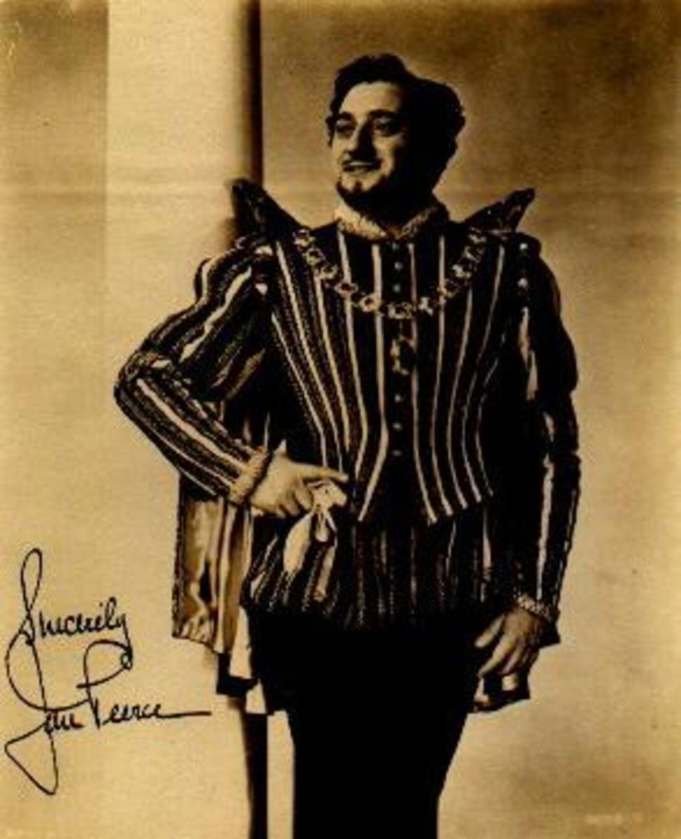 Jan Peerce in Rigoletto