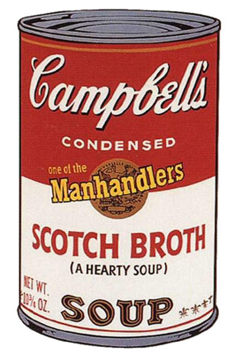 Scotch Broth by Andy Warhol