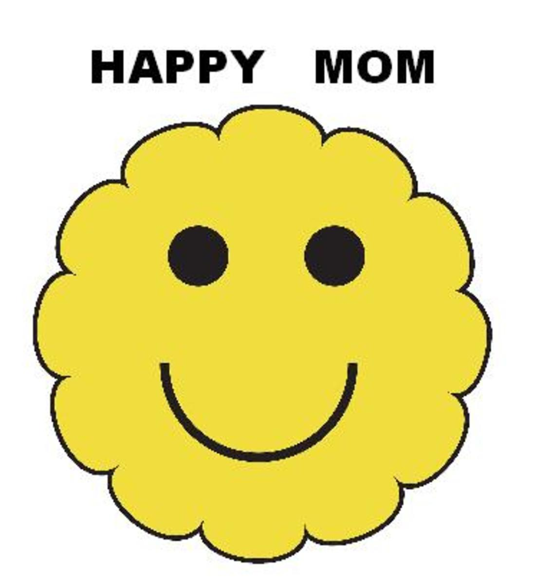The Happy Mom Daily Checklist