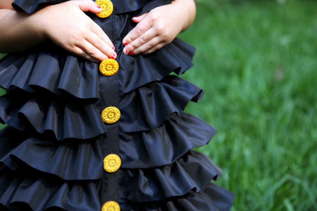 Ruffled Dress by No Big Dill