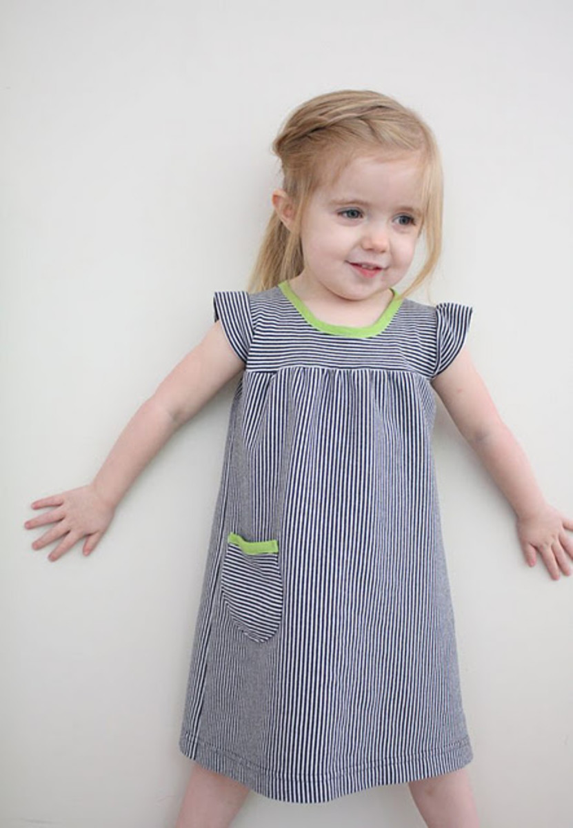 Designer Dress Patterns For Children Playdate Dress by Craftiness