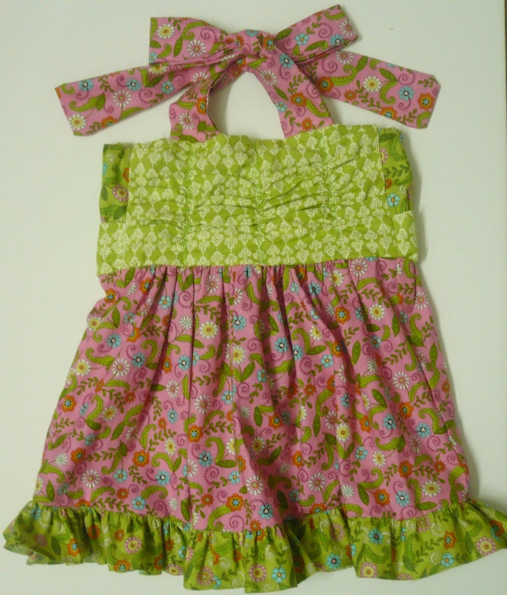 Grow N Gather Dress By Anshu for Moda Bake Shop
