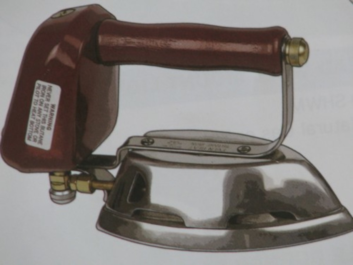 Butane Clothes Iron from Cottage Craft Works.com