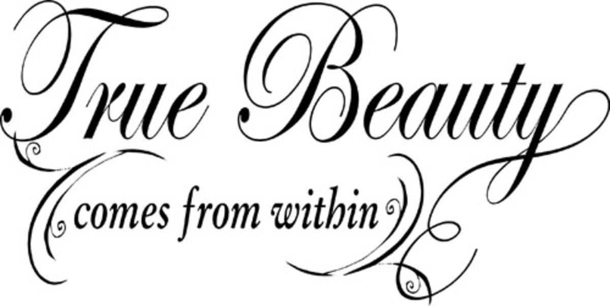 Inner Beauty Becomes Outer Beauty  by ANONYMOUS.