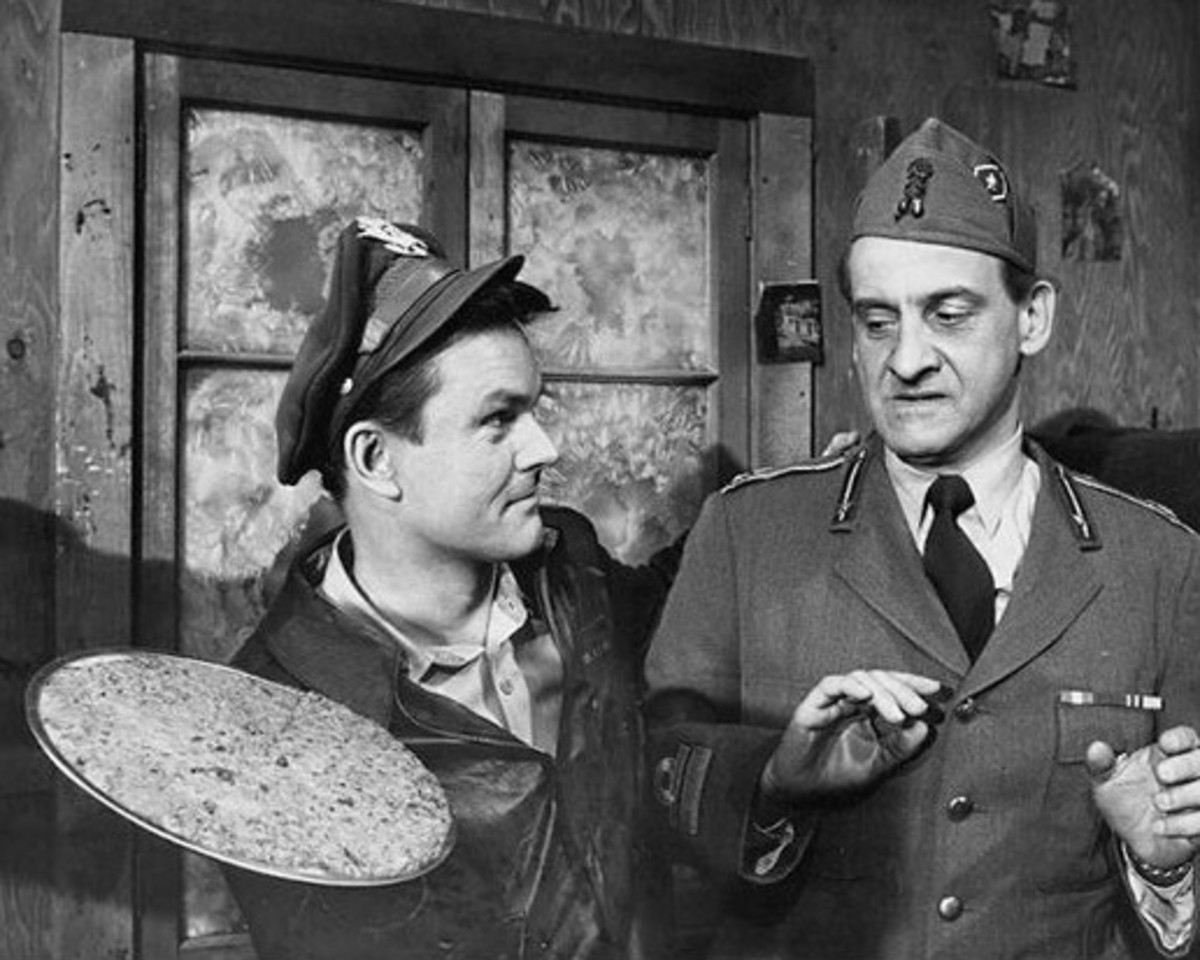 Hogan's Heroes:  silly TV show