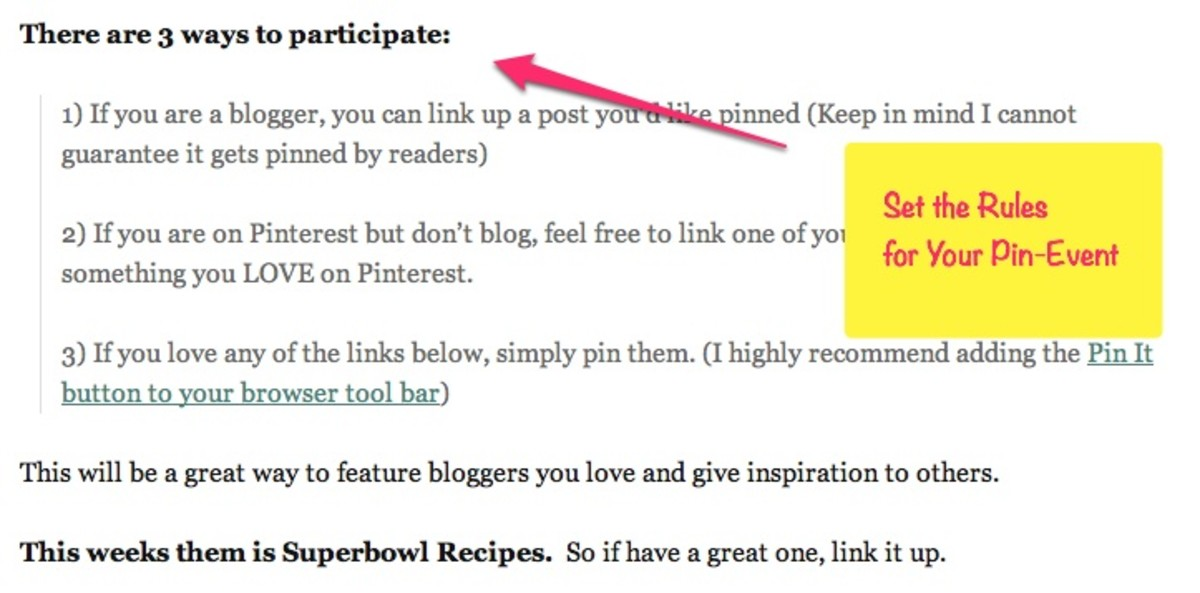 Set the Ground Rules to avoid spammy links.  Be ready to deal with those that abuse it!