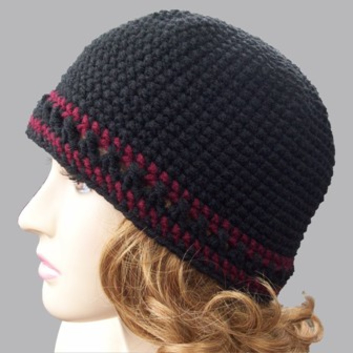 Single Crochet Beanie - Free Crochet Pattern by Rhelena