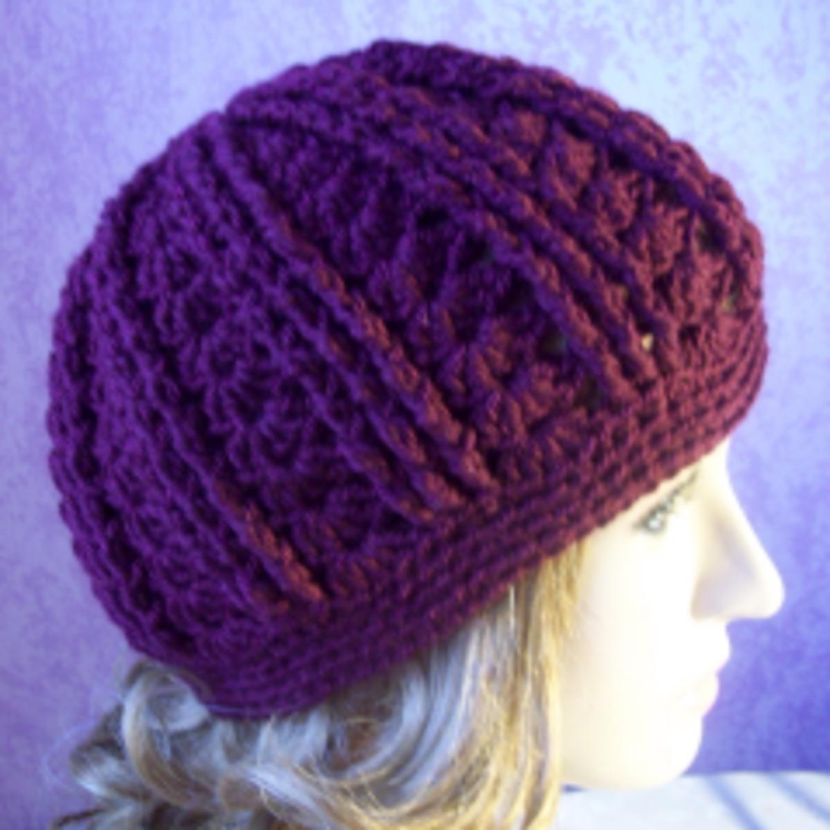 Free Easy Crochet Winter Hat Pattern : Free Crochet Patterns for Hats