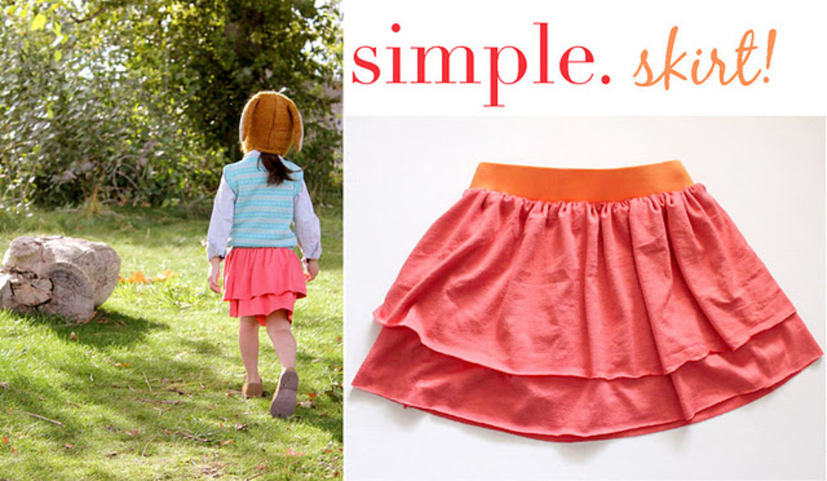 Knit Layered Skirt by Ruffles And Stuf