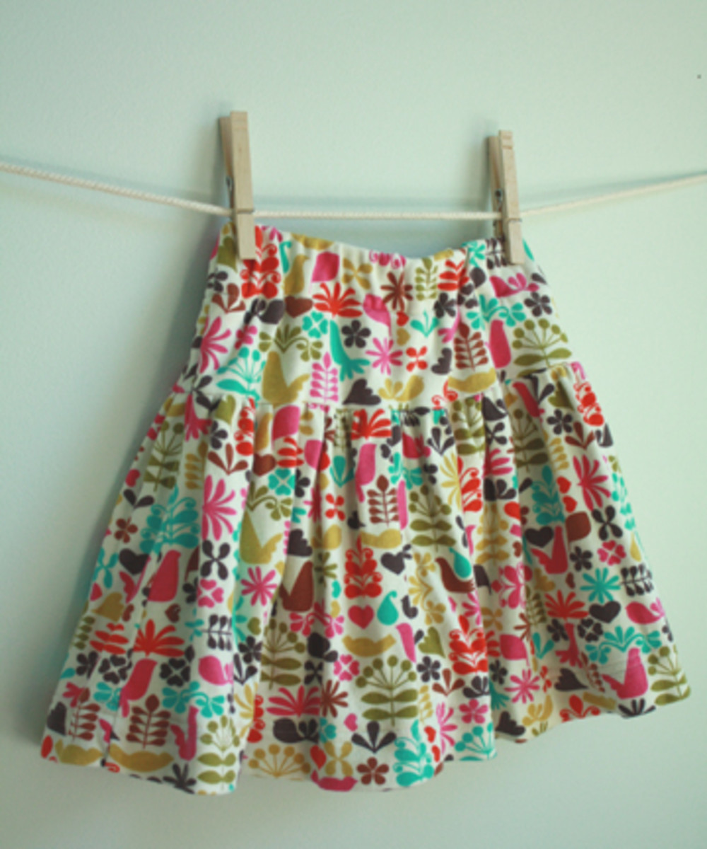 Skirt with Shorts from A Long Thread