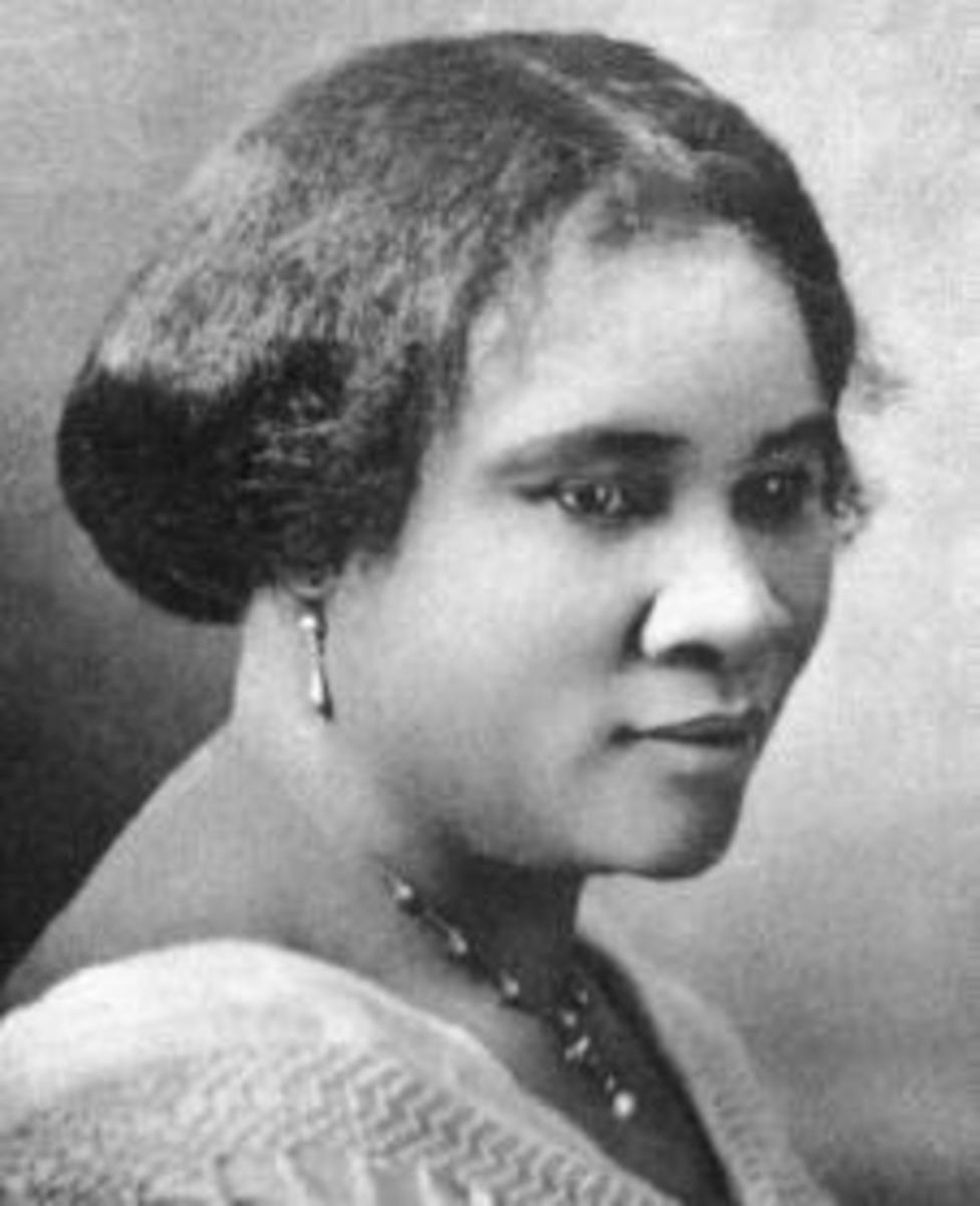 Famous Black Female Entrepreneurs in History - the Story of Madam C J Walker (Sarah Breedlove)