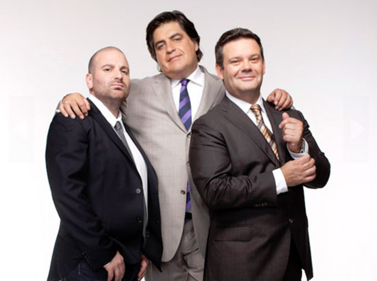 MasterChef Australia Judges: George, Matt and Gary
