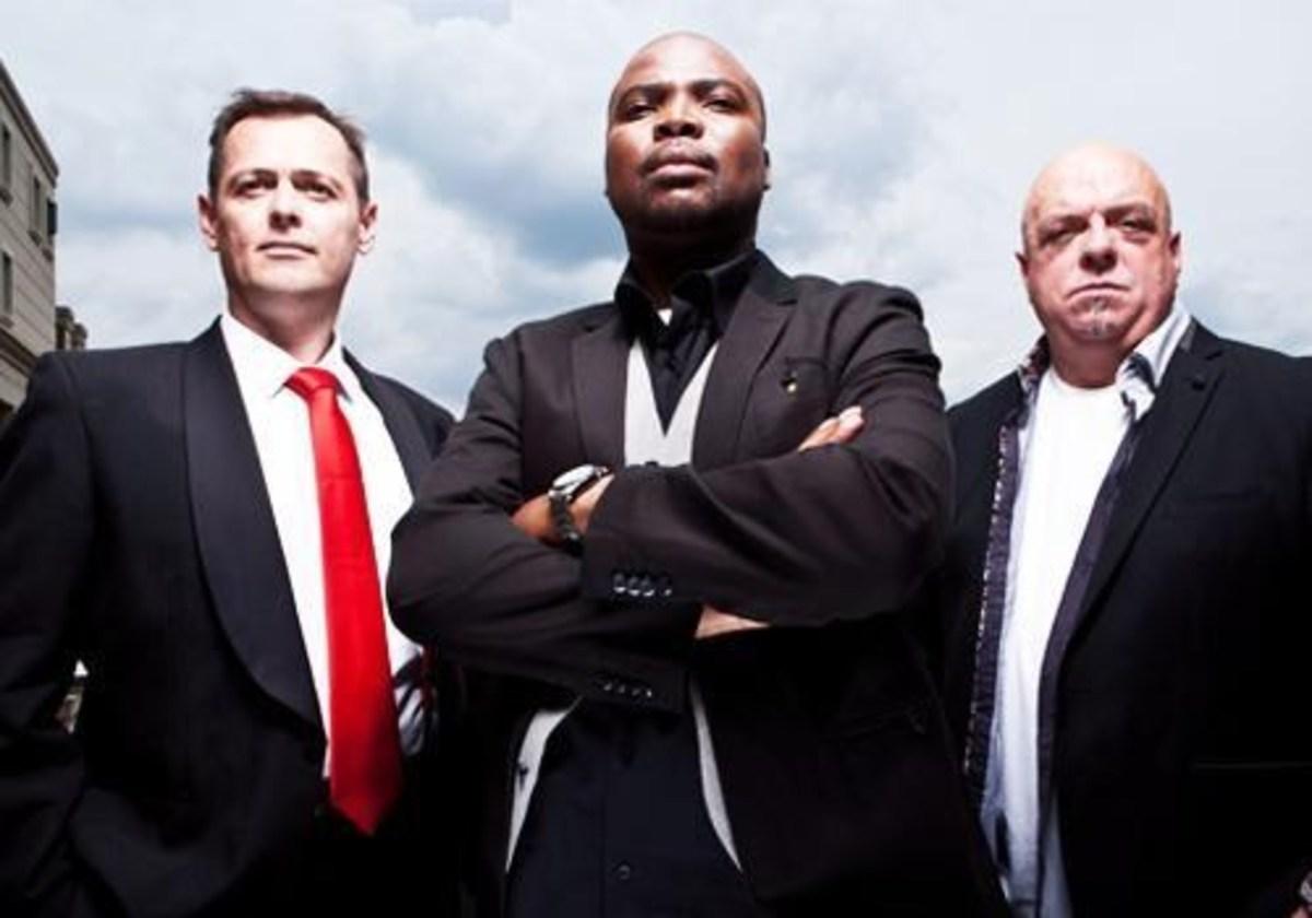 MasterChef SA judges: Andrew Atkinson, Benny Masekwameng and Pete Goffe-Wood