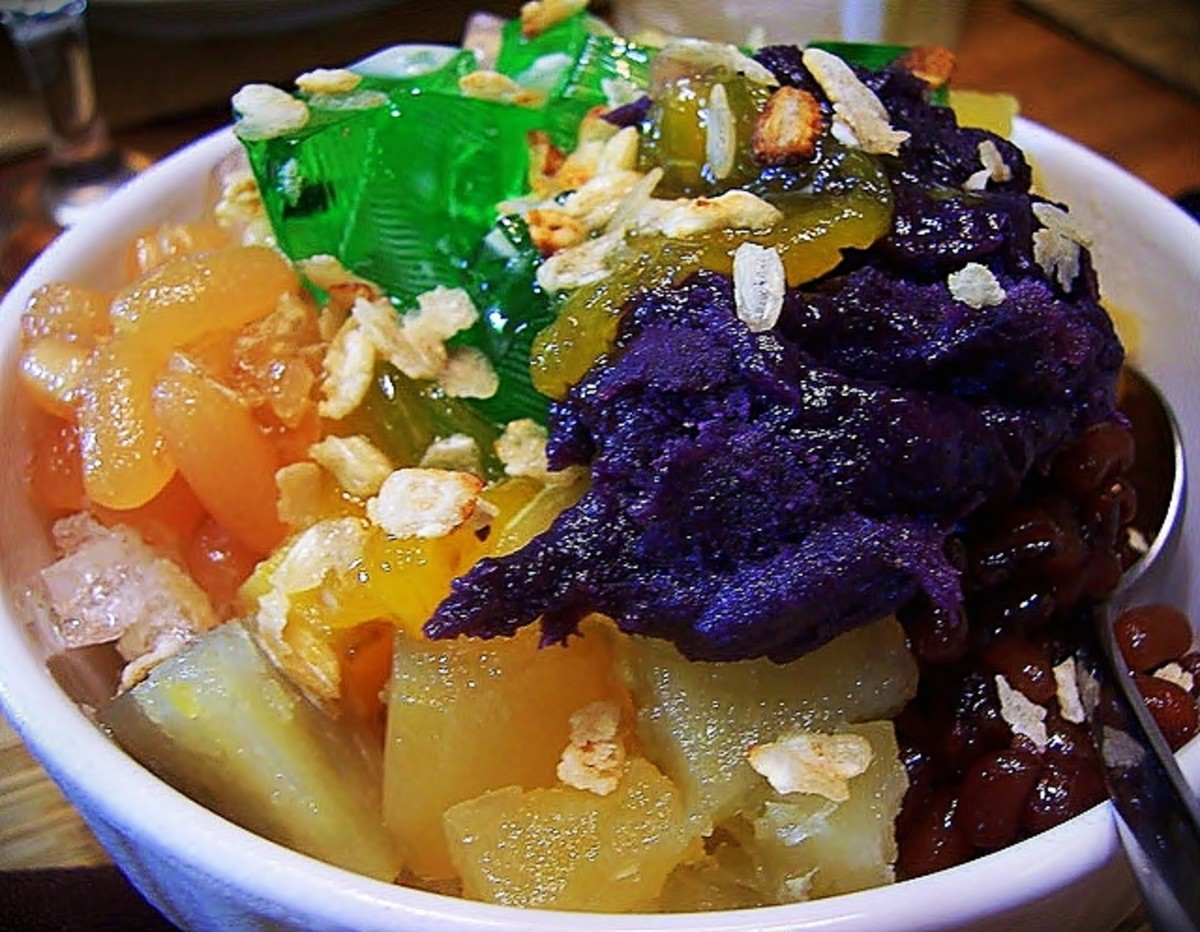 Halo-Halo with Ube Halaya