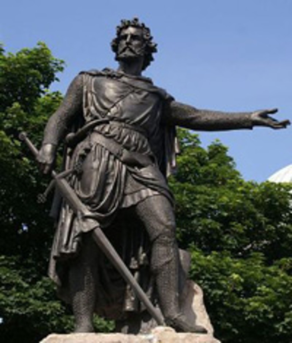 A Statue of William Wallace