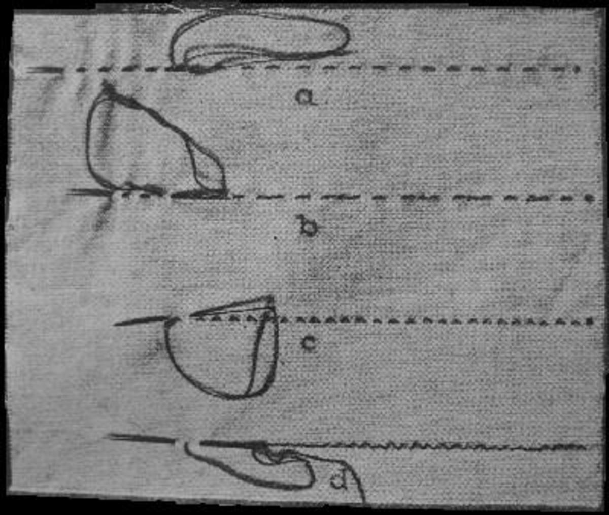 Types of Stitches used in Hand Sewing - Kinds of Plain Stitch