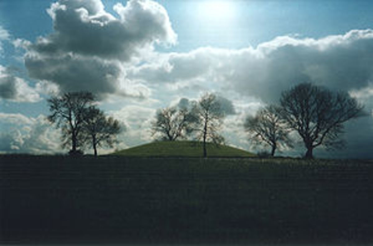 Emain Macha - one of the great royal sites of pre-Christian Gaelic Ireland.