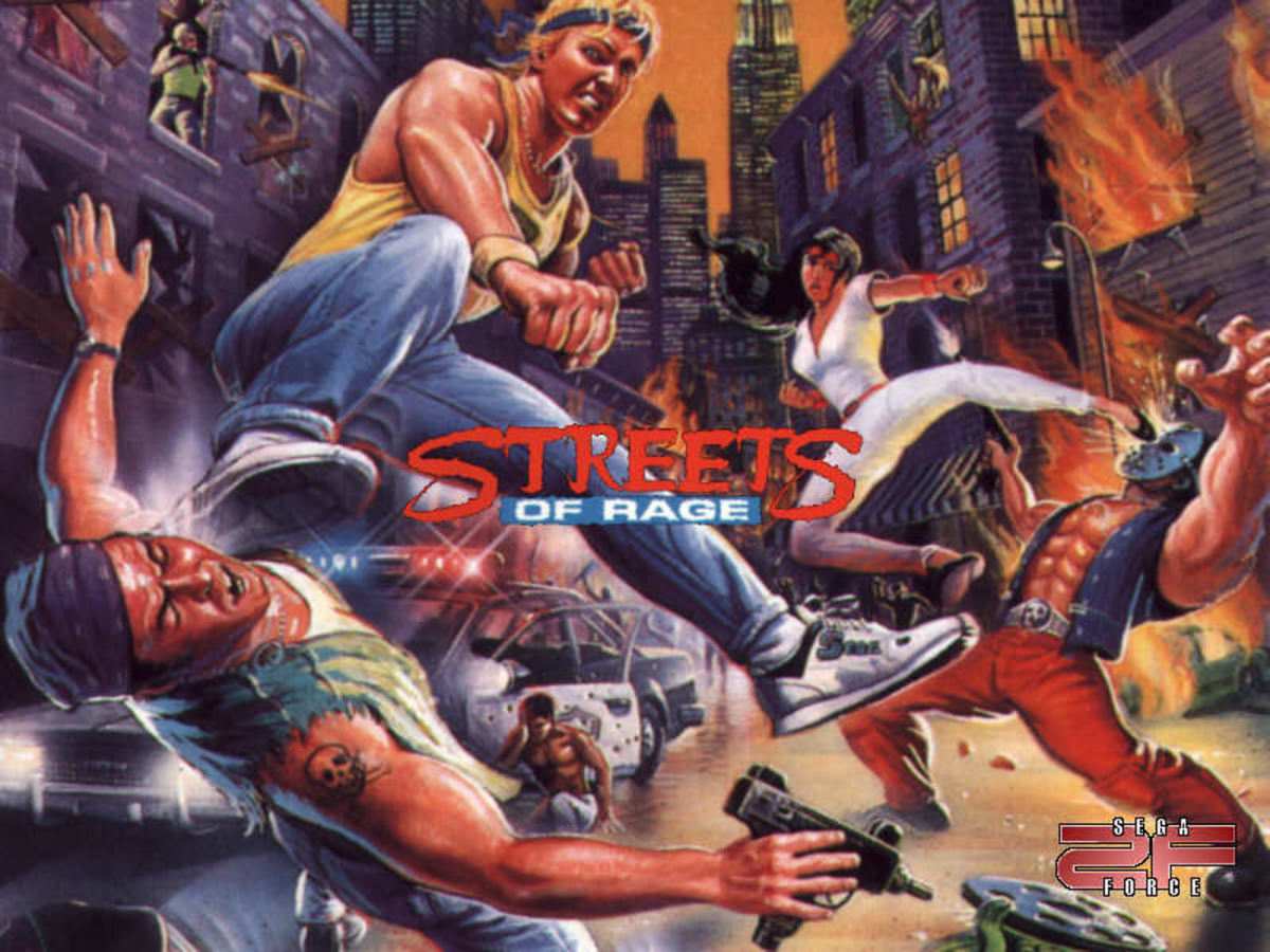 Streets of Rage Series Resource (Sega Genesis Game Gear PC Sega Mastersystem)