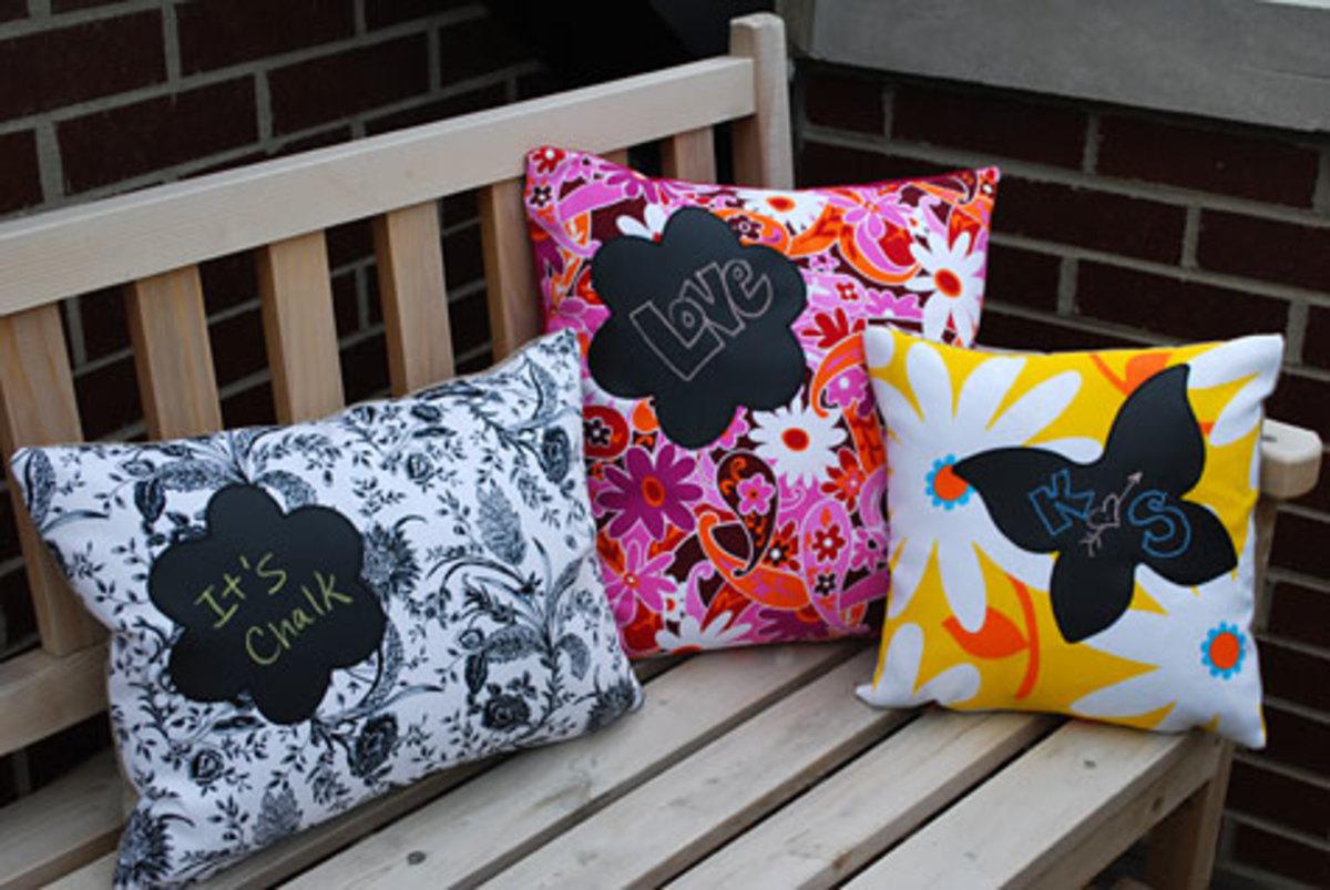 Chalkboard Pillows