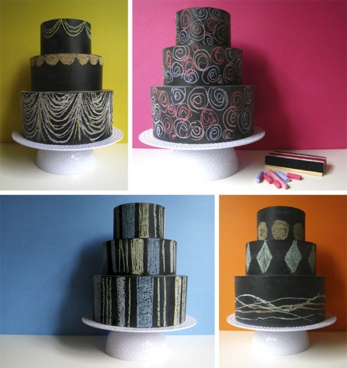 Chalkboard Cake Toy