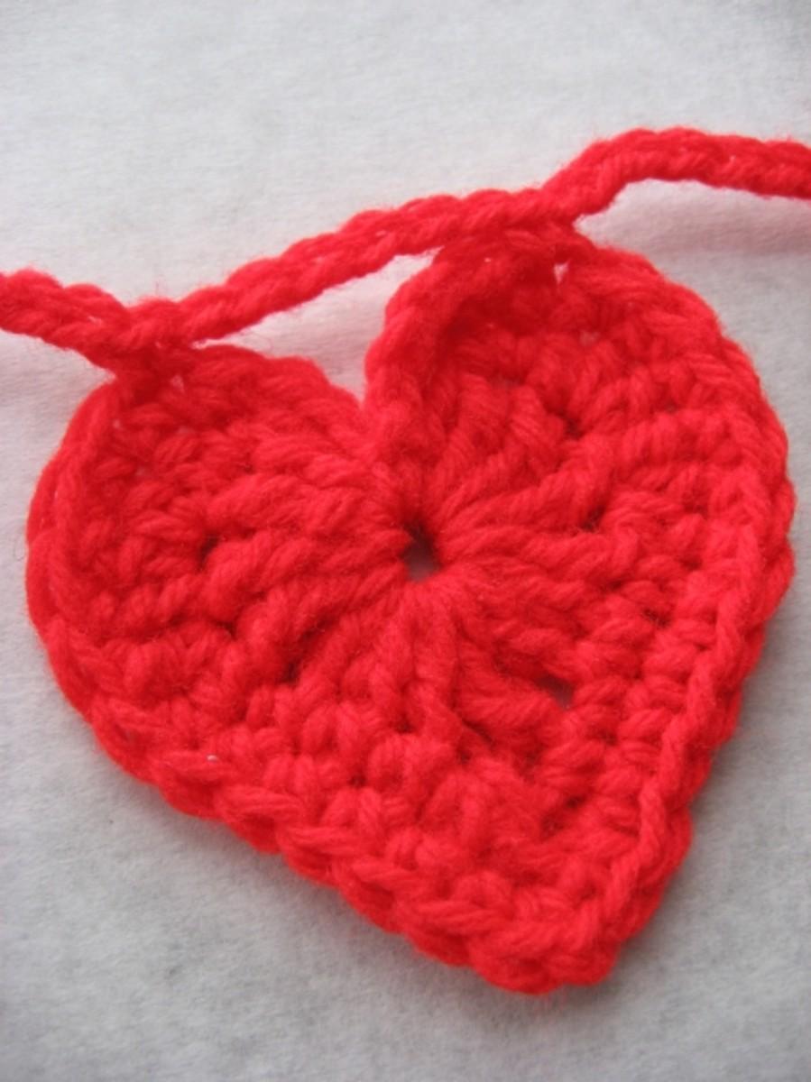 Last Minute Crochet Valentine Day Ideas
