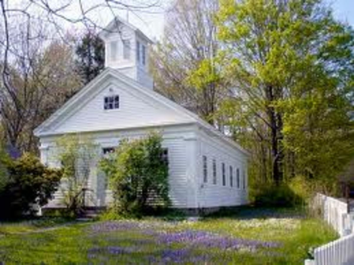 This old country church resembles the one I remember in Mississippi.