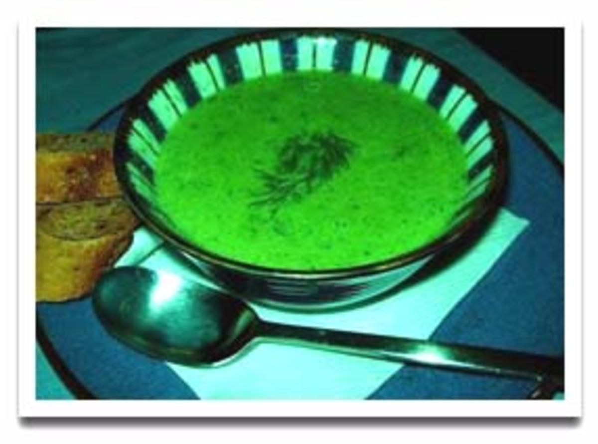Green Pea and Bacon Soup