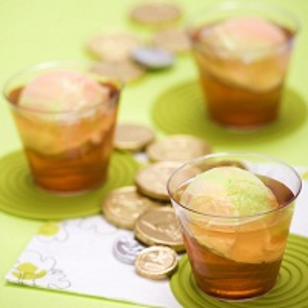 Leprechaun Rainbow Party Punch