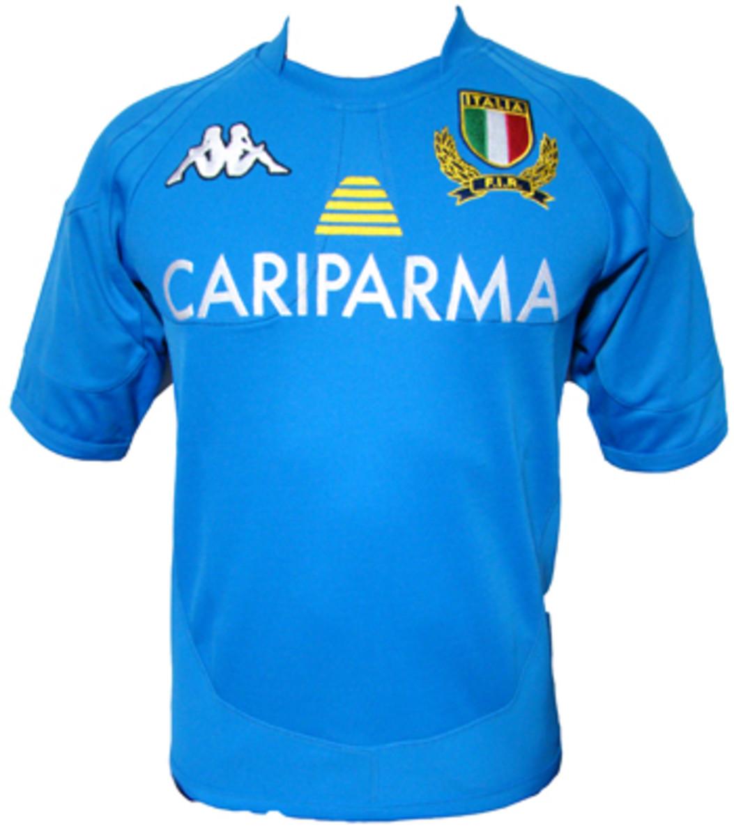 Italy's 2012 home kit