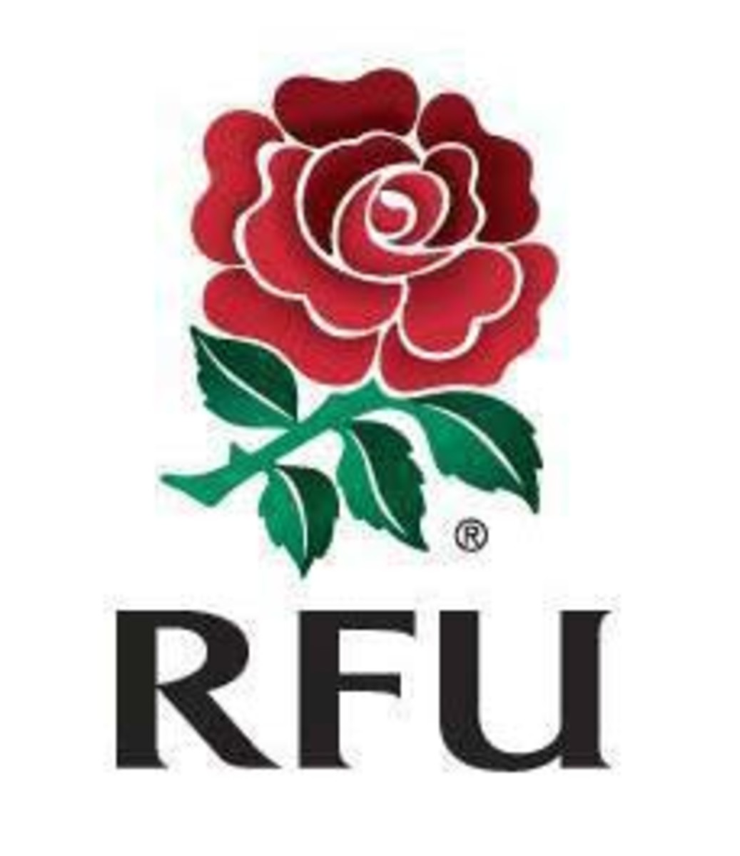 The rose is NOT the royal rose of England (which is red and white), but IS the symbol of the English Rugby Football Union