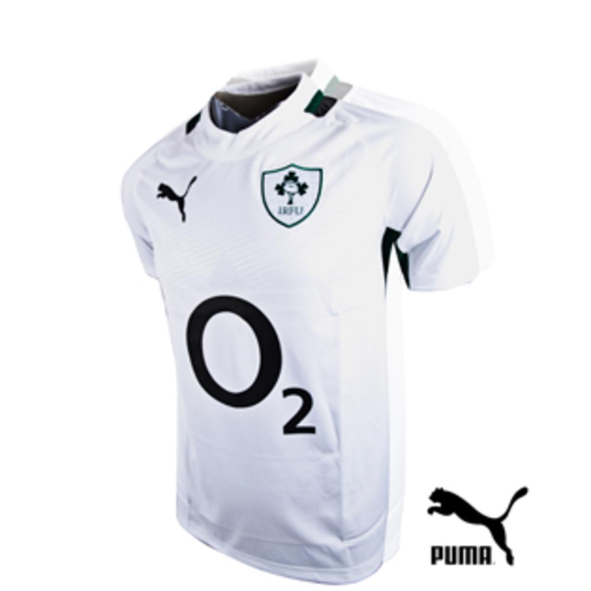 Ireland's away kit for 2012