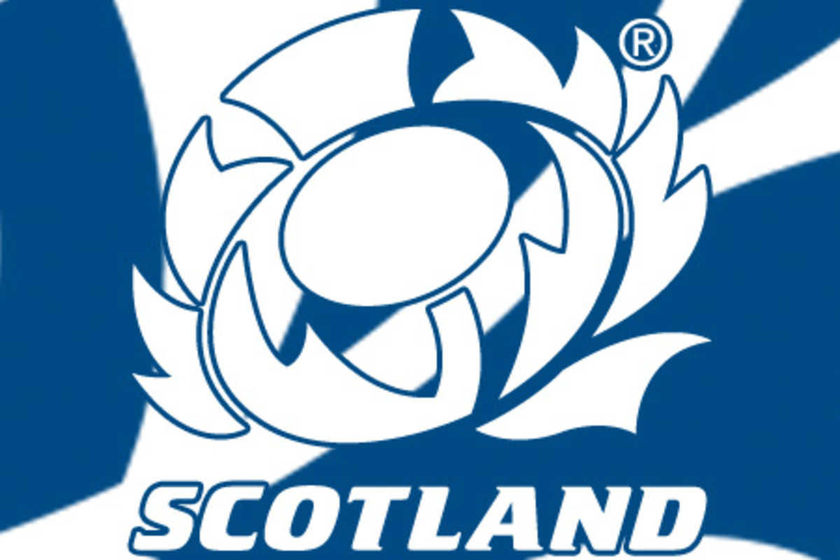 The Scottish Thistle is incorporated as the emblem of the National Rugby side