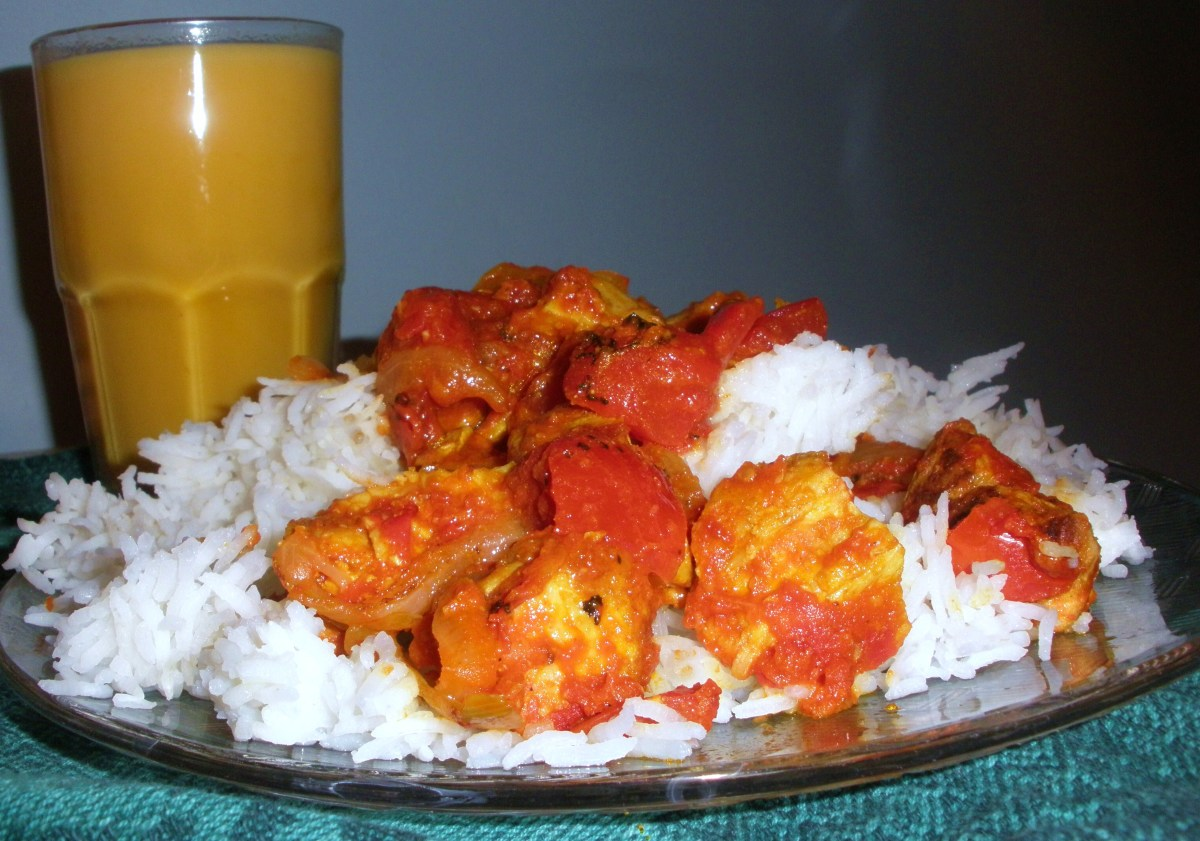 Recipe for Authentic Indian Potluck Curry Dish