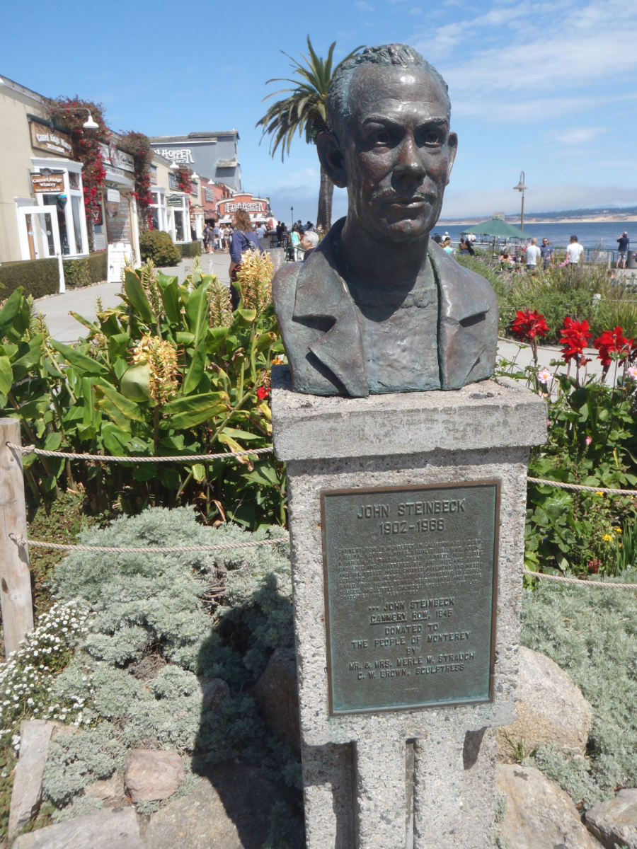 John Steinbeck Plaza at Cannery Row.