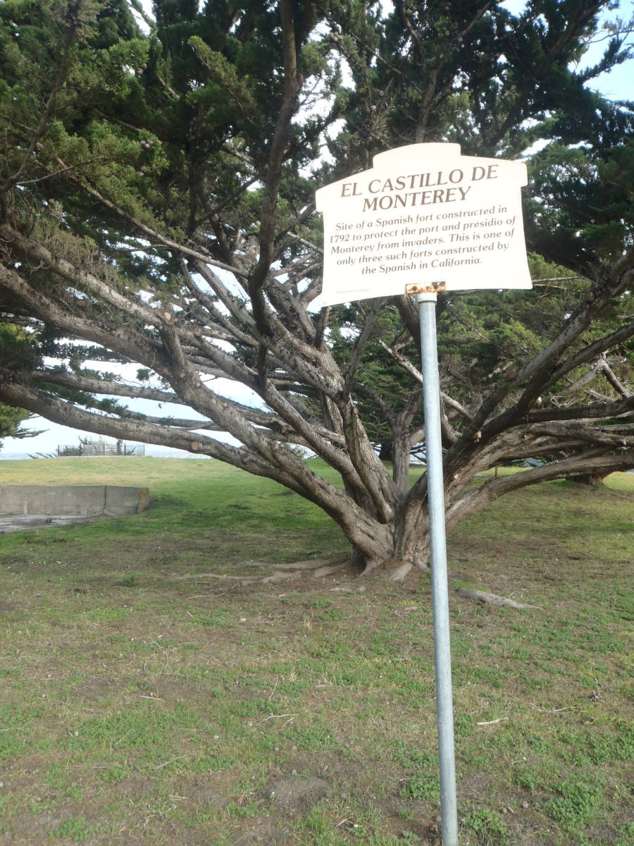 Site of El Castillo de Monterey on the U.S. Army Presidio.