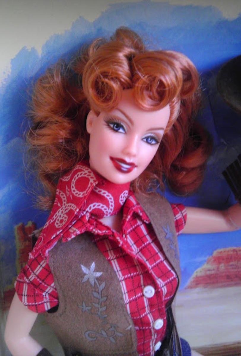 Way Out West Barbie.  Yee-ha!