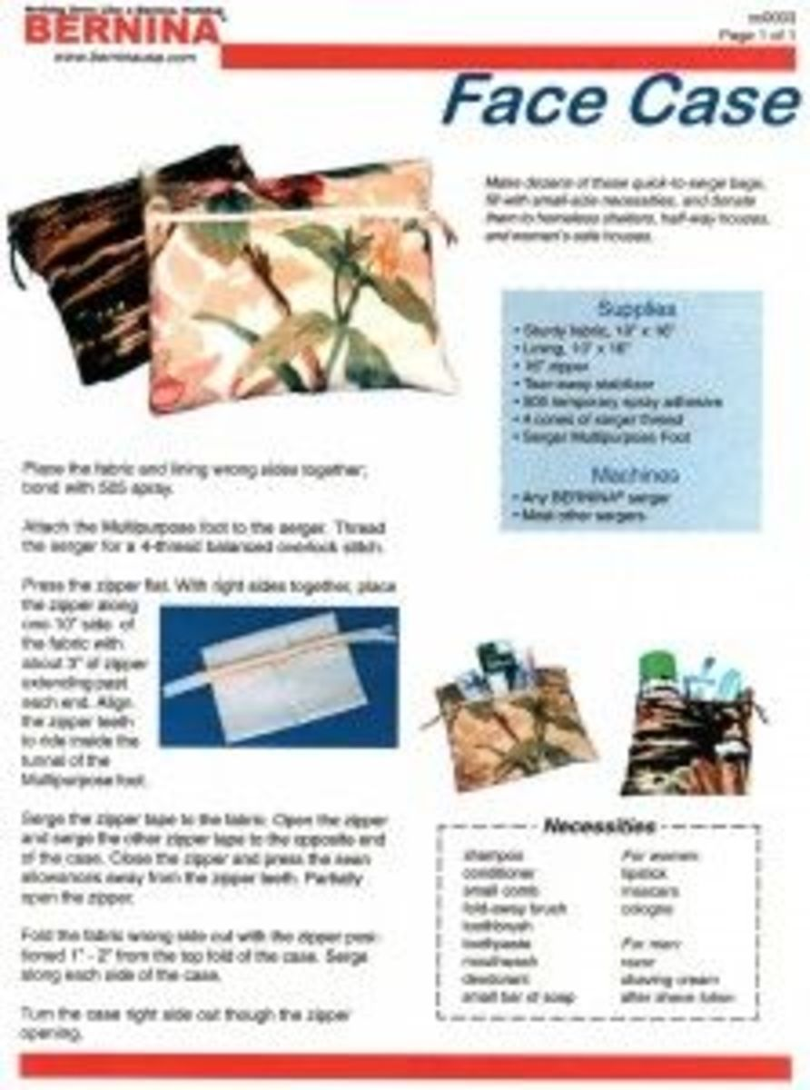 Projects to Sew - Charity Gift Bags