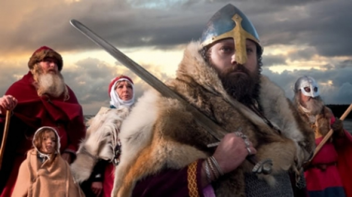 When the Danes came in AD 864 it wasn't to loot or pillage. This began as a revenge trip and would become an occupation of the eastern region of what became Aengla Land in Aethelstan's time