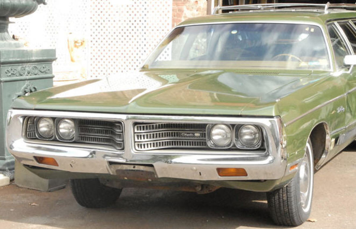 John's 1972 Chrysler Wagon