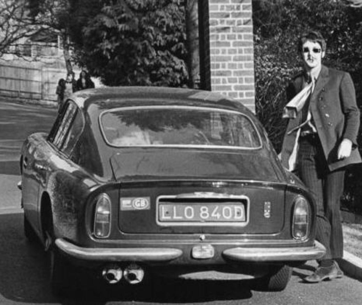 Paul's Aston Martin