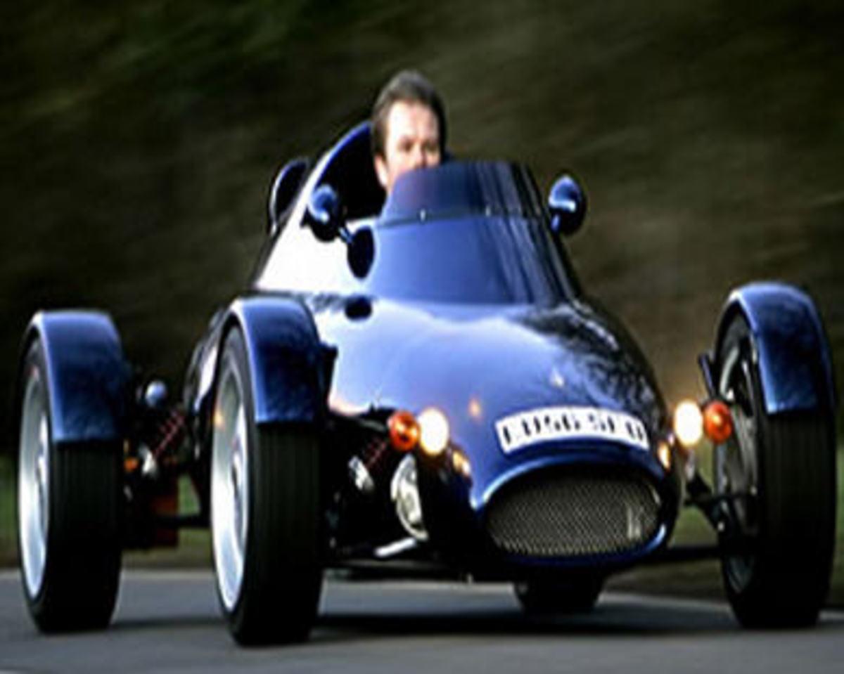 Harrison's F1 car