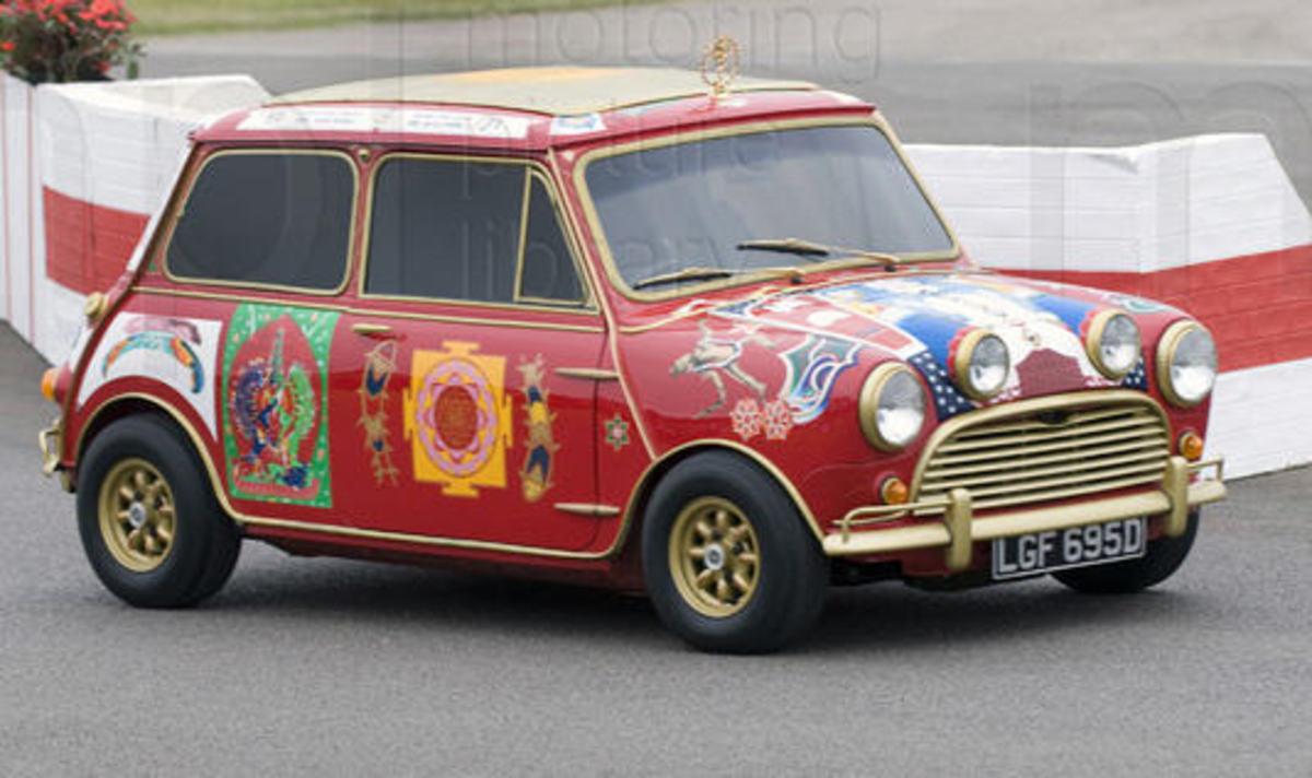 Harrison's Mini-Cooper