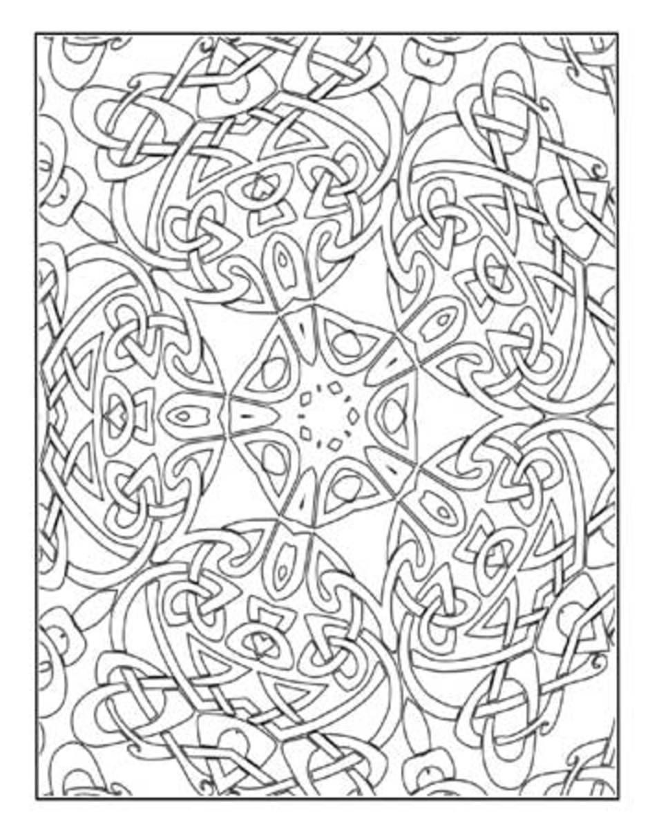 Celtic Kaleidoscope Poster Art