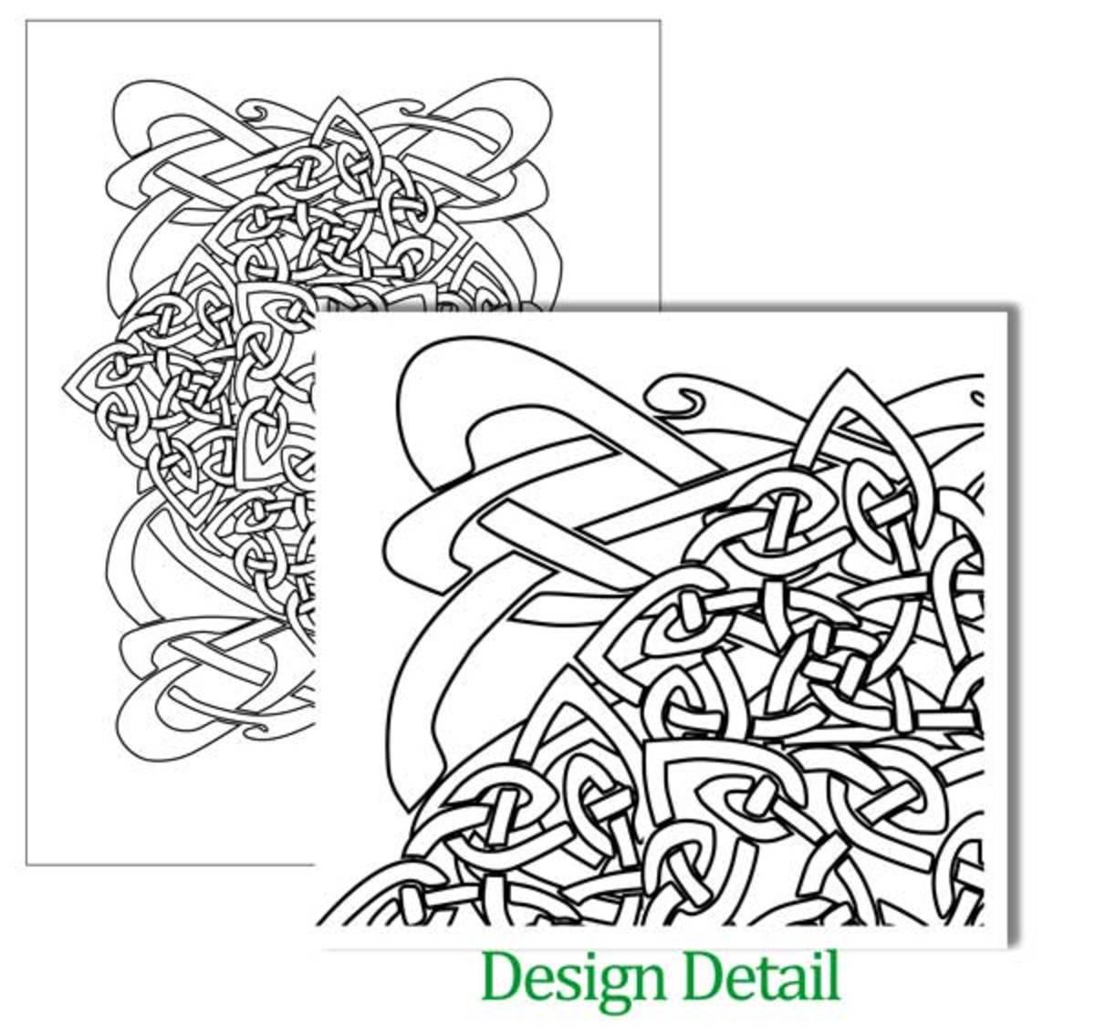 Celtic Design Poster Art